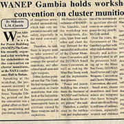 West Africa Network for Peacebuilding Convenes Gambia Stakeholder Meeting on CCM Ratification