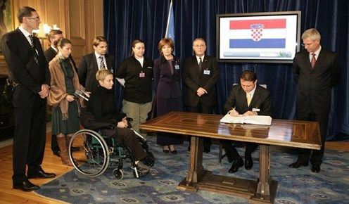 Croatia Delegation in Oslo