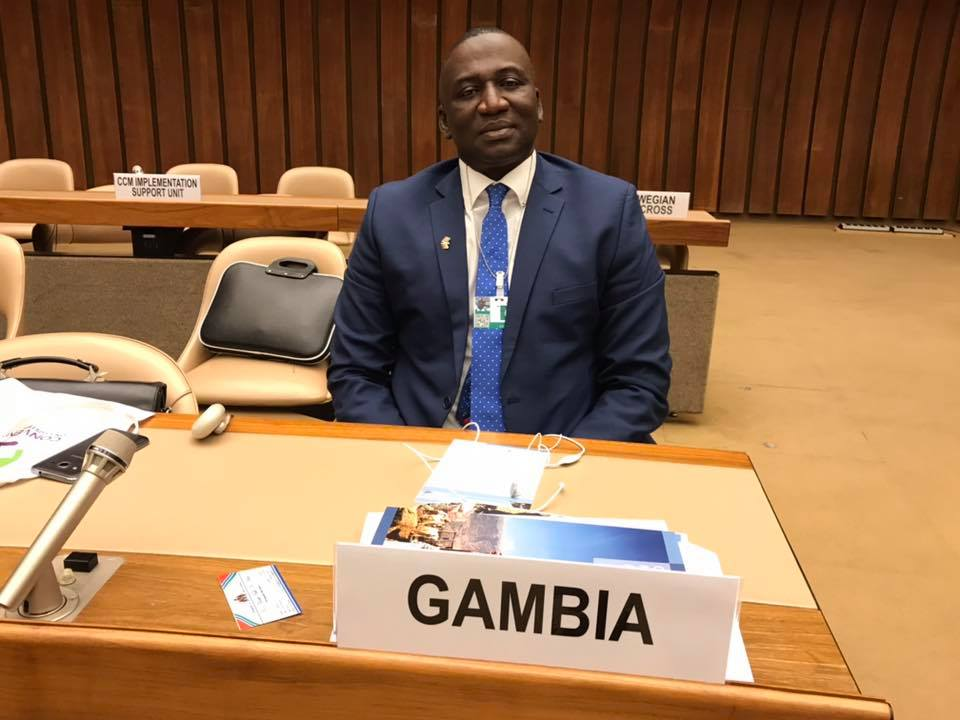 Gambia ratifies the Convention on Cluster Munitions to become 105th State Party!